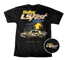 2017 Holley LS Fest West Black Youth Tee