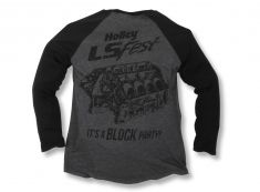 """2017 Holley LS Fest """"Its a Block Party"""" Baseball Tee"""