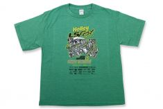 2017 Holley LS Fest Green Event Tee - Youth